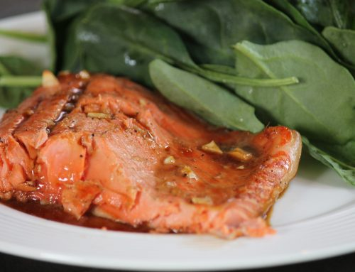 Bourbon Glazed Salmon- Recipe ReDux