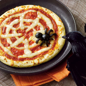 Spiderweb-Pizzas