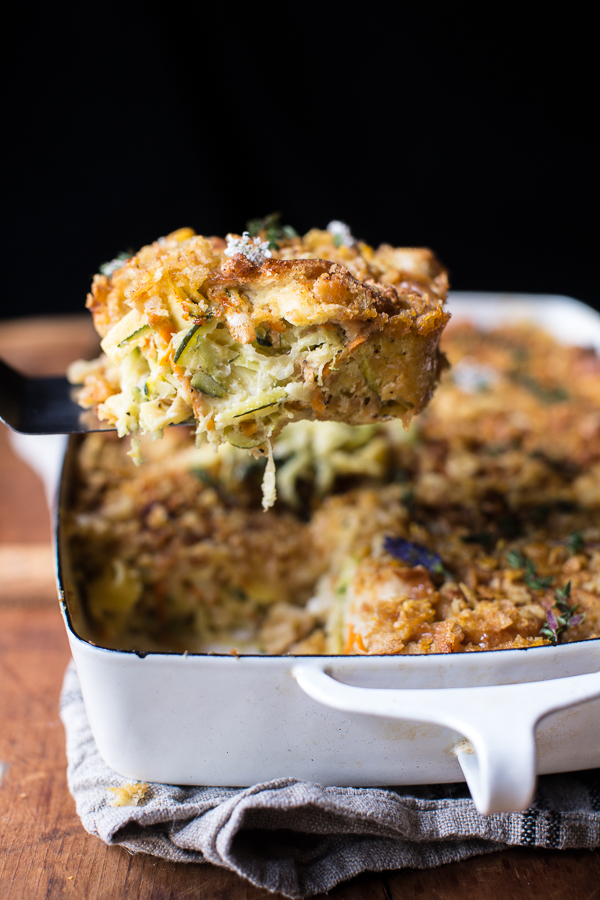 One-Pan-Healthier-Chicken-and-Zucchini-Noodle-Casserole-7