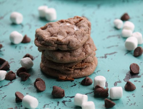 Hot Cocoa Cookies: Guest Post