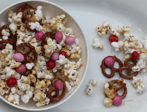 Sweet and Salty Popcorn Mix