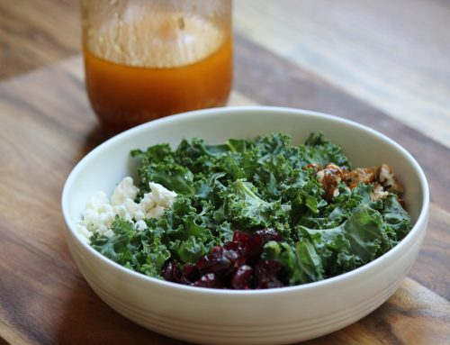 Kale Salad with Tarragon Vinaigrette