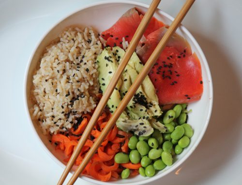 Smoked Salmon Sushi Bowl