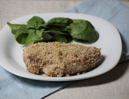 Walnut-Crusted Chicken Breast