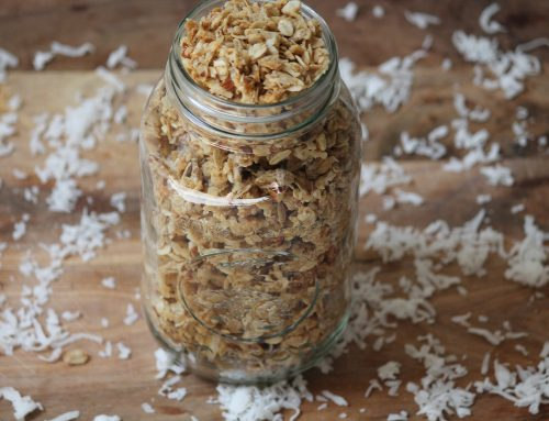 Coconut-Almond Granola