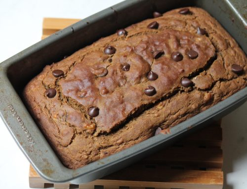 Teff Flour Chocolate Chip Banana Bread