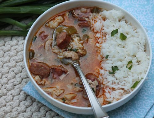 Chicken and Sausage Gumbo (Gluten-Free)