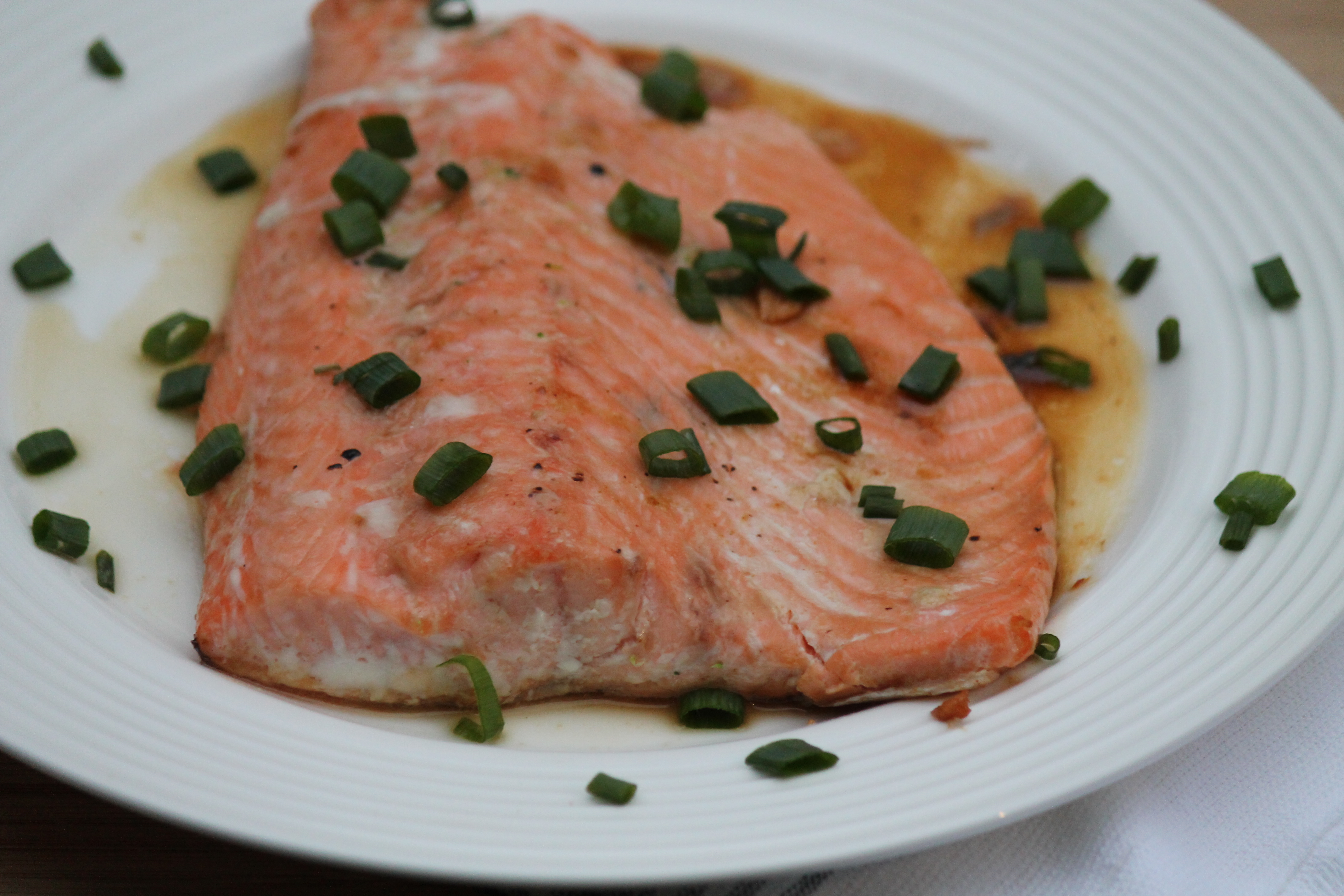 Roasted Asian Salmon