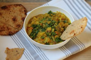 Potato, Kale and Lentil Curry (Vegan)